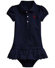 Baby Girls Polo Dress, Created For Macy's