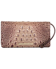 Melbourne Embossed Leather AnnMarie Wallet