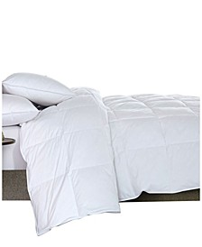 Featherloft Goose Feather Down Comforter, Queen