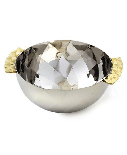 Leeber Geometric Stainless Steel Bowl
