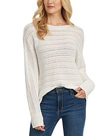 Open-Weave Sweater