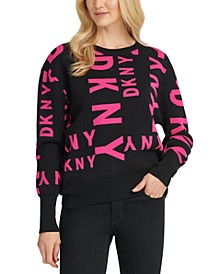 Mixed-Logo Sweater