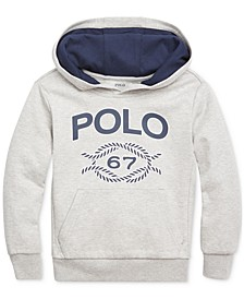 Little Boys Double-Knit Graphic Hoodie