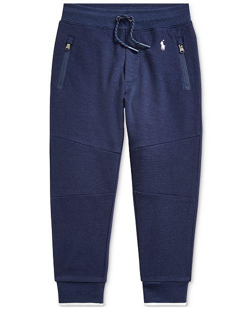Polo Ralph Lauren Little Boys Piqué Jogger Pants