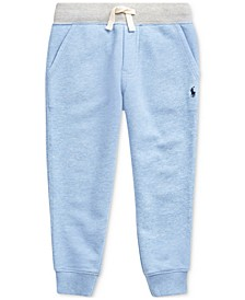 Toddler Boys Twill Terry Jogger Pants