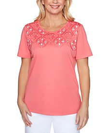 Petite Miami Beach Cut-Out Top