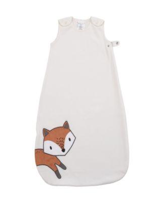 Lil Fox Fleece Wearable Baby Blanket