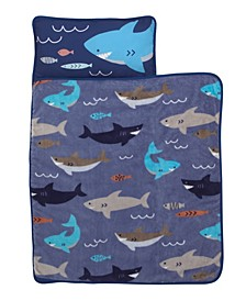 Shark Nap Mat with Pillow and Blanket