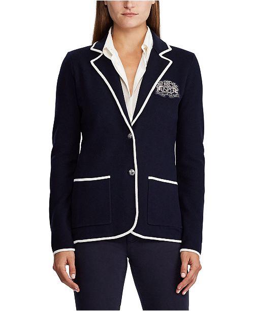 Lauren Ralph Lauren Classic Cotton-Blend Blazer