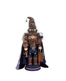 15-Inch Hollywood Wizard Nutcracker with Owl