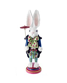 18-Inch Hollywood™ White Rabbit Nutcracker