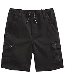 Big Boys Felton Twill Cargo Short with Thigh Flap Pockets, Created for Macy's