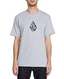 Men's Pixo Stone Logo T-Shirt
