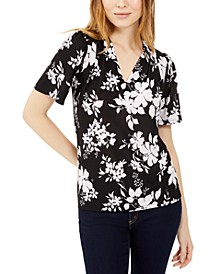 Tropical Shadow Flower Top