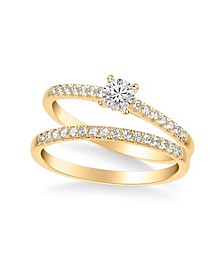 Diamond Bridal Set (1/2 ct. t.w.) in 14k Gold, White Gold or Rose Gold