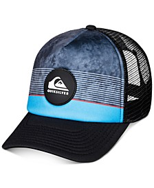 Big Boys Striped Colorblocked Trucker Hat