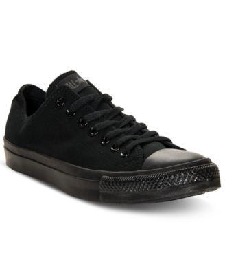 cheap all black converse