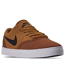 Boys SB Check Canvas Skateboarding Sneakers from Finish Line