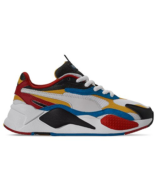Boys' Big Kids' Puma RS X Puzzle Casual Shoes