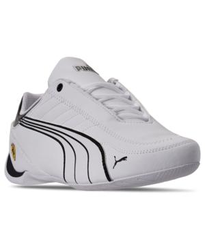 Puma Sneakers MEN'S SCUDERIA FERRARI FUTURE KART CAT CASUAL SNEAKERS FROM FINISH LINE