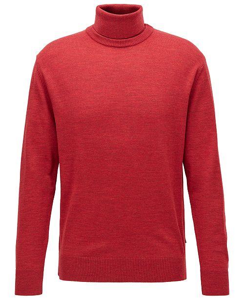 Hugo Boss BOSS Men's Grato Hybrid-Neckline Sweater