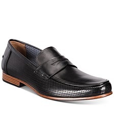 Men's Peyton Leather Penny Loafers, Created for Macy's