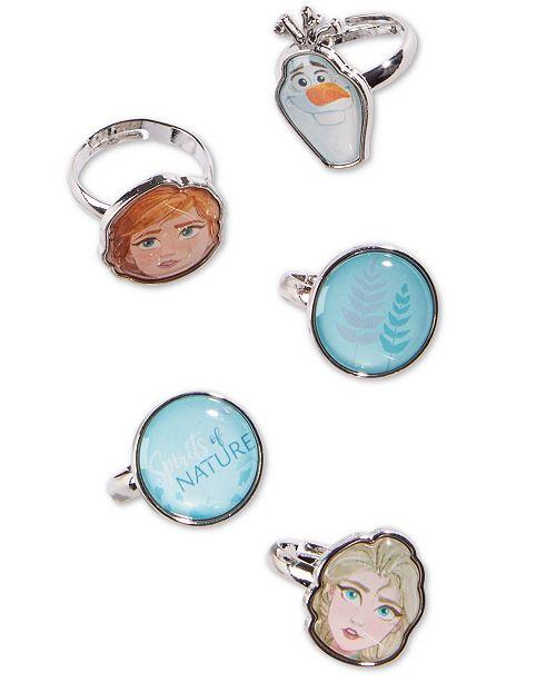 On the Verge Little & Big Girls 5-Pk. Frozen Rings