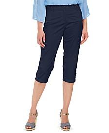 Petite Comfort-Waist Capri Pants, Created for Macy's