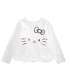 Little Girls Mesh Bubble Top