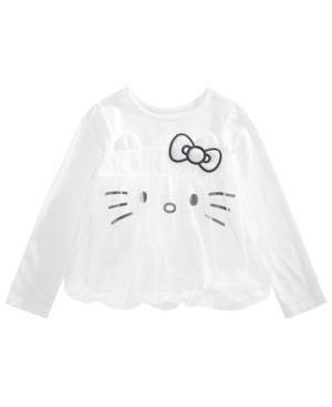 Hello Kitty Little Girls Mesh Bubble Top