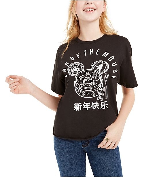 Mad Engine Disney Juniors' Lunar New Year Graphic T-Shirt