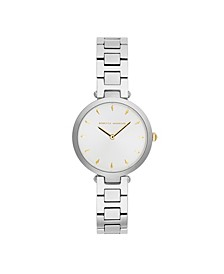 Womens Major Stainless Steel Watch 33MM