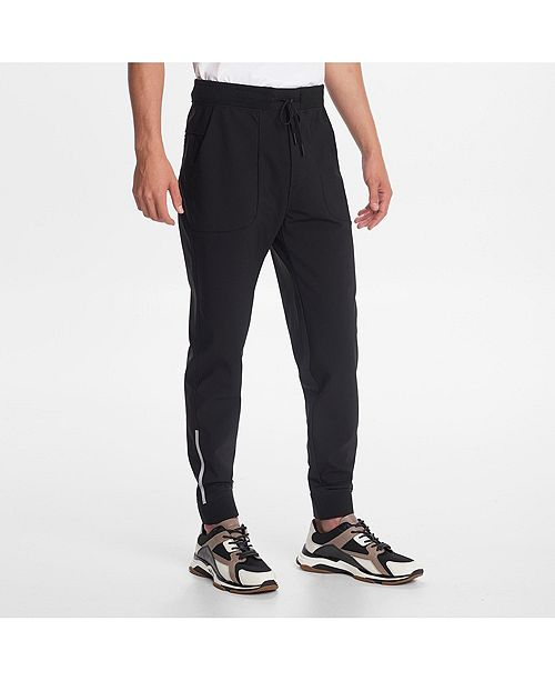 Karl Lagerfeld Paris Men's Jogger With Reflective Print Details