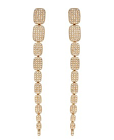 Diamond (1 ct. t.w.) Drop Earrings in 14K Yellow Gold