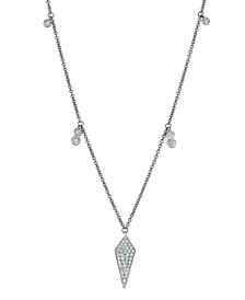 Diamond (1/5 ct. t.w.) Necklace in 14K White Gold