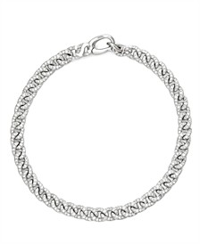 Diamond (1-5/8 ct. t.w.) ID Bracelet in 14K White Gold