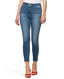 Social Standard Mid-Rise Skinny Ankle Jeans