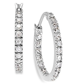 264f67ff75602 Cz Hoop Earrings - Macy's