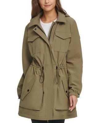 Hooded Water-Resistant Anorak Jacket