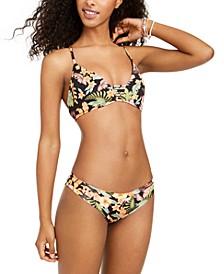 Juniors' Picaflores Printed Bikini Top & Audrey Bottoms
