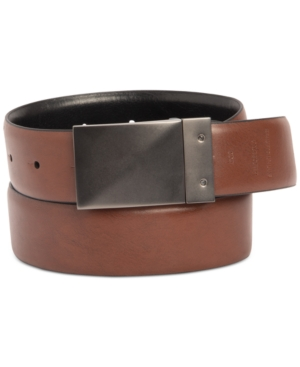 Men's Stretch Reversible Plaque Belt
