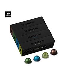 VertuoLine Dark Roast Pack, 40 Capsules