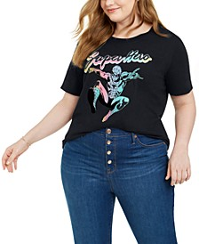 Trendy Plus Size Marvel Super Hero Graphic-Print T-Shirt