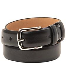 Big Boys Comfort Stretch Faux-Leather Dress Belt