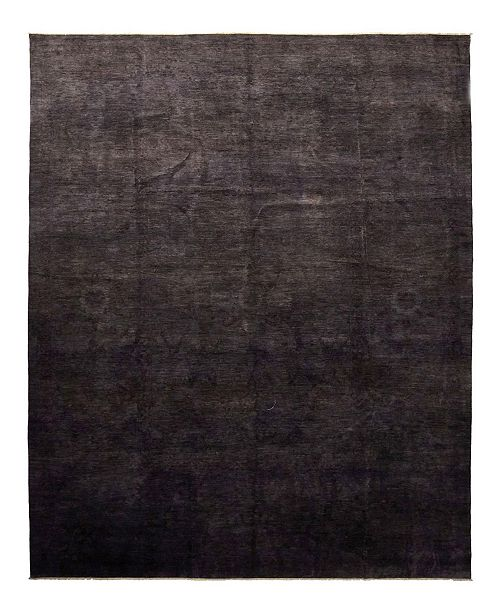 """Timeless Rug Designs CLOSEOUT! One of a Kind OOAK1061 Charcoal 12' x 17'1"""" Area Rug"""