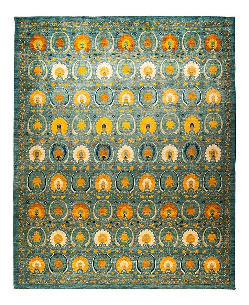 "Timeless Rug Designs CLOSEOUT! One of a Kind OOAK1230 Ocean 12'2"" x 15'1"" Area Rug"