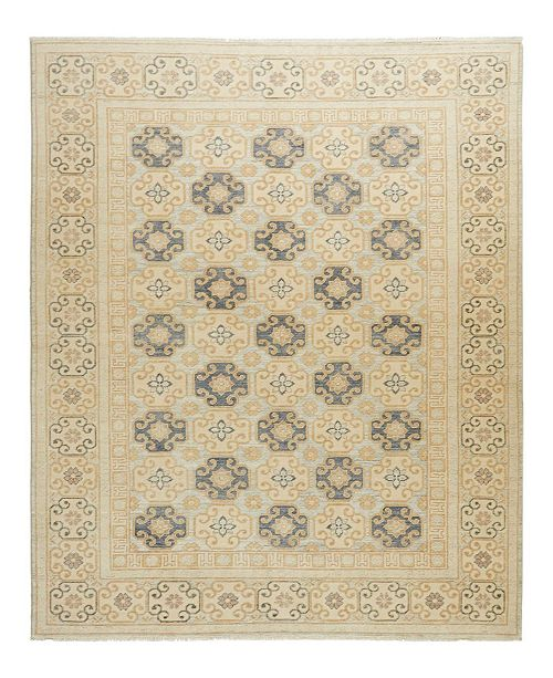 """Timeless Rug Designs CLOSEOUT! One of a Kind OOAK1612 Ivory 5'8"""" x 8'1"""" Area Rug"""