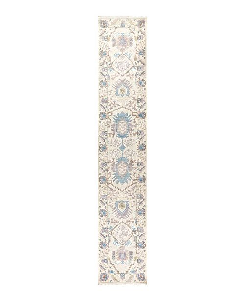 """Nourison CLOSEOUT! Timeless Rug Designs One of a Kind OOAK1714 Ivory 2'7"""" x 14'3"""" Runner Rug"""