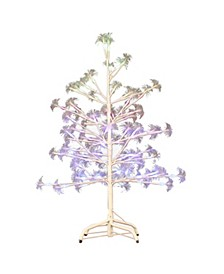 5-Foot Fiber Optic White Birch Tree
