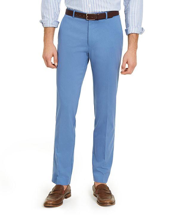 Tommy Hilfiger Men's Modern-Fit TH Flex Stretch Comfort Solid Performance Pants